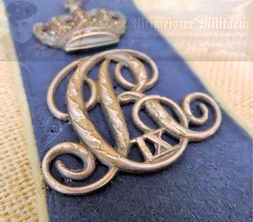 SINGLE ENLISTED MAN/NCO'S ULANEN-REGIMENT Nr 6 SHOULDER STRAP - Imperial German Military Antiques Sale