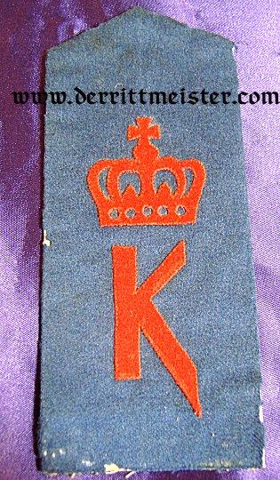 PRUSSIA - SHOULDER STRAP - ENLISTED MAN - INFANTERIE-REGIMENT Nr 88 - Imperial German Military Antiques Sale