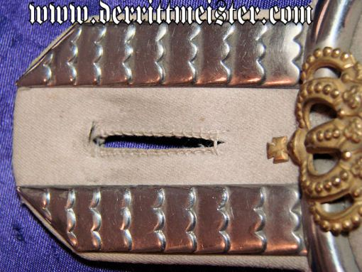 PAIR OF ENLISTED MAN/NCO EPAULETTES - ULANEN-REGIMENT Nr 13 - PRUSSIA - Imperial German Military Antiques Sale