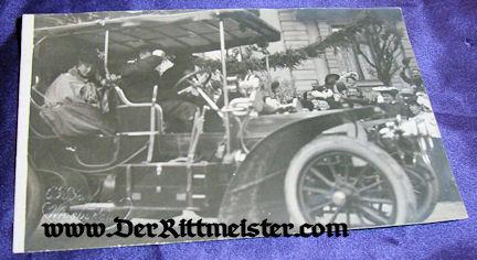 POSTCARD - GERMAN ROYAL - AUTOMOBILE - Imperial German Military Antiques Sale