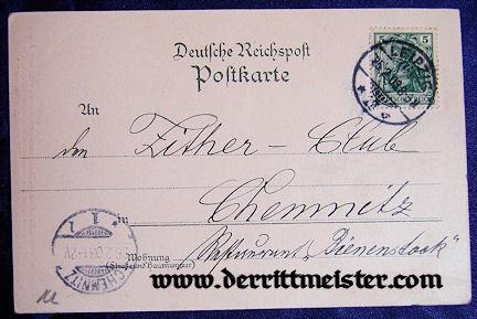 COLOR POSTCARD - OTTO von BISMARCK - Imperial German Military Antiques Sale