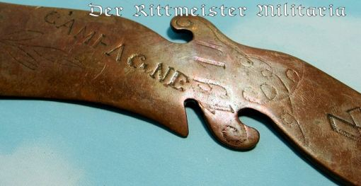 SCIMITAR-SHAPED LETTER OPENER - Imperial German Military Antiques Sale