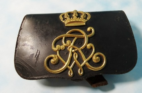 BADEN - CARTRIDGE BOX - OFFICER - Imperial German Military Antiques Sale