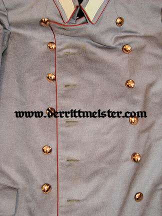 PRUSSIA - LITEWKA & TROUSERS - IDENTIFIED OFFICER - HELLGRAU - REGIMENT Nr 76 - Imperial German Military Antiques Sale