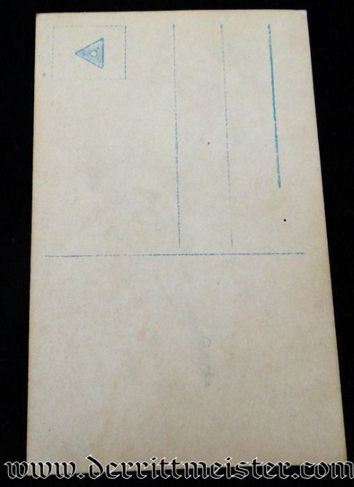 NPG CARD Nr 5695 VIZEFELDWEBEL WAGNER - Imperial German Military Antiques Sale