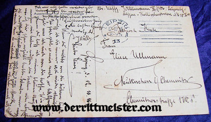 POSTCARD - ENGLISH MONOPLANE - GERMAN MUSEUM - Imperial German Military Antiques Sale