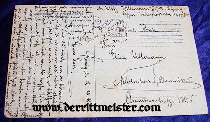 POSTCARD - ENGLISH MONOPLANE - GERMAN MUSEUM - Imperial German Military Antiques Sale