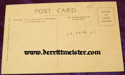 COLOR AVIATION-RELATED PROPAGANDA POSTCARD - Imperial German Military Antiques Sale
