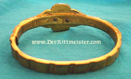 PATRIOTIC BRACELET - TRENCH ART - Imperial German Military Antiques Sale