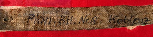 PRUSSIA - SHOULDER STRAP - ENLISTED MAN/NCO - PIONIER-BATTALION Nr 8 - Imperial German Military Antiques Sale