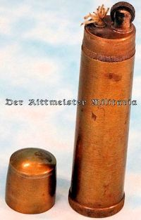 CIGARETTE LITER - ARTILLERY SHELL REPLICA - Imperial German Military Antiques Sale