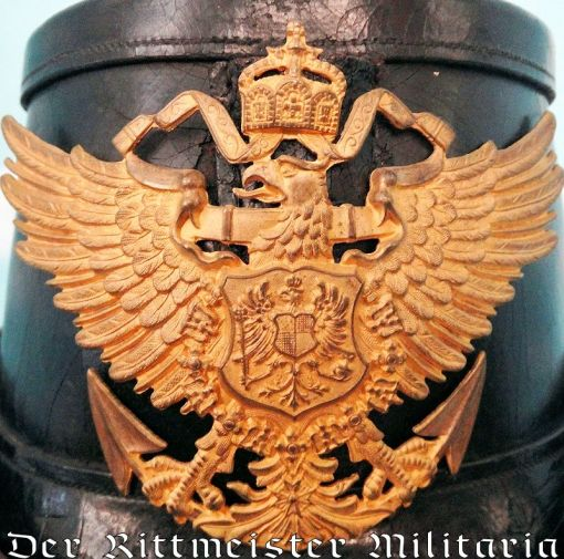 PRUSSIA - TSCHAKO - NCO - SEE-BATAILLON - Imperial German Military Antiques Sale