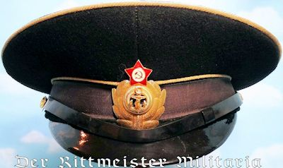 USSR - VISOR CAP - NAVY ADMIRAL - Imperial German Military Antiques Sale