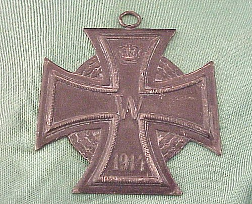 OVERSIZED 1914 IRON CROSS - Imperial German Military Antiques Sale