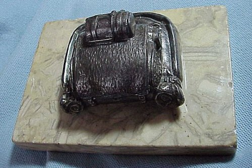 GERMANY - DESK PIECE IN THE SHAPE OF A FIELD PACK - Imperial German Military Antiques Sale