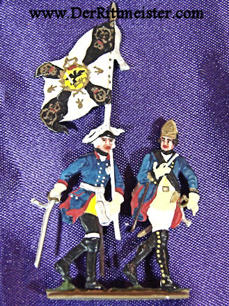 HAND PAINTED SET - SOLDIERS - NAPOLEONIC WARS - Imperial German Military Antiques Sale