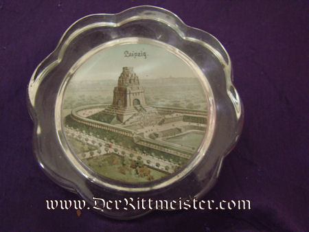 VOLKERSCHLACHT DENKMAL BEI LEIPZIG PAPERWEIGHT - Imperial German Military Antiques Sale