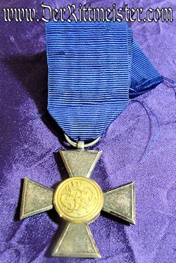 OFFICER'S TWENTY-YEARS LONG-SERVICE AWARD - PRUSSIA - Imperial German Military Antiques Sale