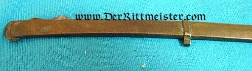 MINIATURE LION'S HEAD SWORD - Imperial German Military Antiques Sale
