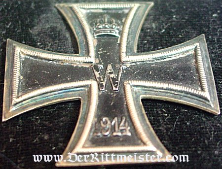 "IRON CROSS - 1914 - 1st CLASS - NON VAULTED  WITH ""KO"" HALLMARK IN ORIGINAL PRESENTATION CASE - Imperial German Military Antiques Sale"