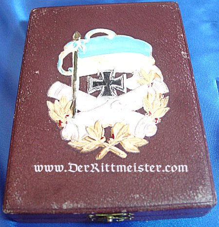 IRON CROSS - 1914 - 2nd CLASS - THREE DECORATION GROUPING - ORIGINAL PRESENTATION CASE - BAVARIA - Imperial German Military Antiques Sale