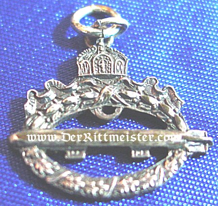 COMMEMORATIVE NAVY AIRSHIP BADGE - MINIATURE - Imperial German Military Antiques Sale