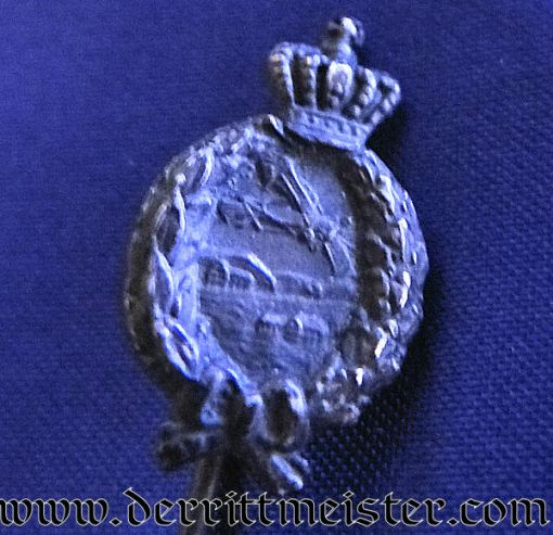 BAVARIAN ARMY PILOT BADGE STICKPIN - Imperial German Military Antiques Sale