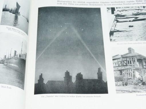 ENGLAND - BOOK- POSTERS AND PHOTOGRAPHS - GROßER BILDER=ATLAS des WELTKRIEGES: DER KRIEGES - Imperial German Military Antiques Sale