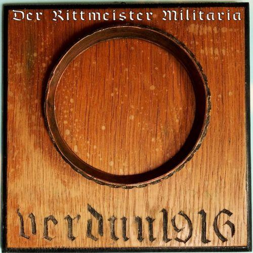 """VERDUN 1916"" WALL PLAQUE - Imperial German Military Antiques Sale"
