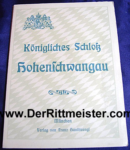 GERMANY - BOOKLET - PHOTOGRAPHIC GUIDE - HOHENSCHWANGAU CASTLE 1900-1920 - Imperial German Military Antiques Sale
