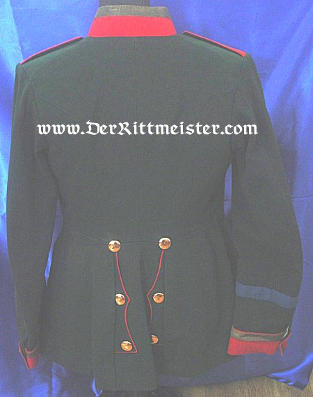 PRUSSIA - TUNIC - ONE-YEAR-VOLUNTEER - JÄGER - Bataillon Nr 10 - Imperial German Military Antiques Sale