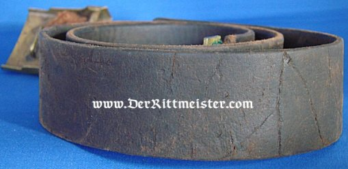 PRUSSIA - BELT AND BUCKLE - ENLISTED MAN - Imperial German Military Antiques Sale