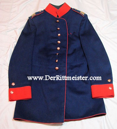 SAXONY - TUNIC -  FAHNENJUNKER - IDENTIFIED - INFANTERIE-REGIMENT Nr 181 'S - Imperial German Military Antiques Sale