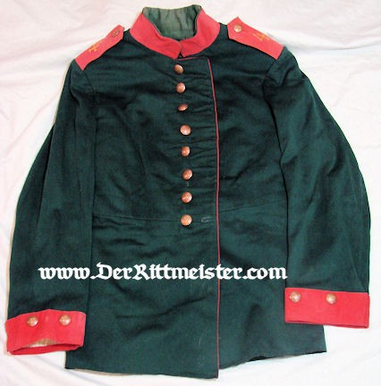 PRUSSIA - TUNIC - ENLISTED MAN - JÄGER Bataillon Nr 4 - Imperial German Military Antiques Sale