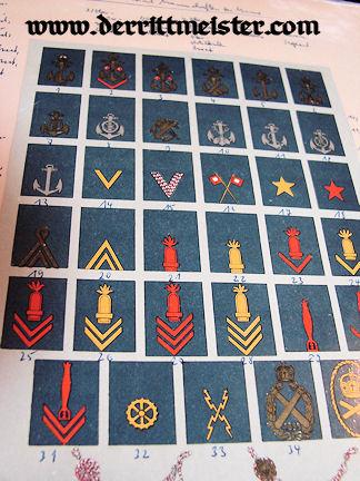 BOOK - COLLECTORS' MANUAL - NAVY & SCHUTZTRUPPEN UNIFORMS - Imperial German Military Antiques Sale