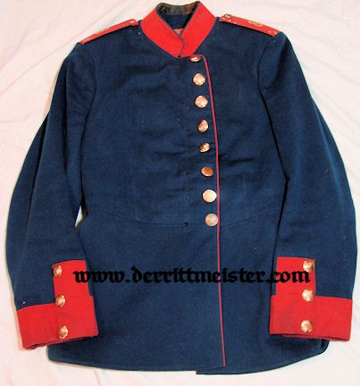 BAVARIA - TUNIC - ENLISTED MAN - INFANTERIE-REGIMENT Nr 8 - Imperial German Military Antiques Sale
