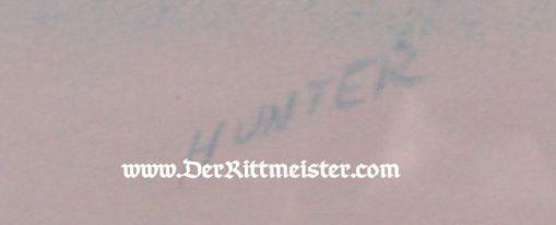 "JACK D. HUNTER - ORIGINAL PAINTING - FEATURING ALBATROS C. III & BRISTOL ""D"" SCOUT - Imperial German Military Antiques Sale"