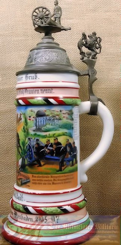 PRUSSIA / NASSAU - STEIN - FELD-ARTILLERIE-REGIMENT Nr 27 - Imperial German Military Antiques Sale