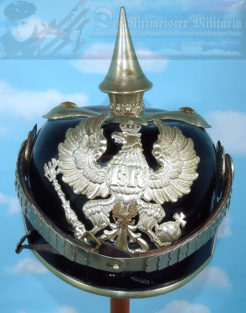 PRUSSIA - PICKELHAUBE – OFFICER - MILITARY ADMINISTRATION