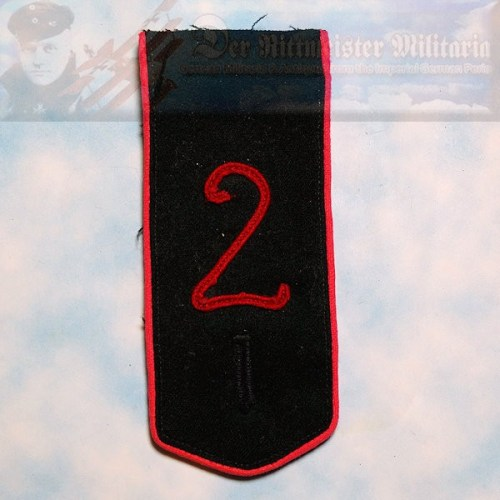 PRUSSIA - SHOULDER STRAP - ENLISTED MAN/NCO - JÄGER ZU PFERDE REGIMENT NR 7