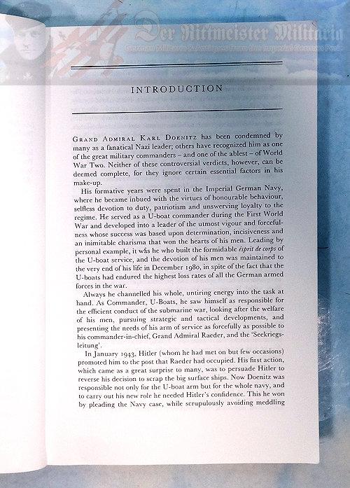 BOOK - MEMOIRS: TEN YEARS AND TWENTY DAYS - GRAND ADMIRAL KARL DOENITZ - Imperial German Military Antiques Sale
