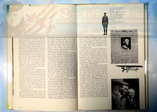 U.S. - BOOK - A HISTORY OF FLIGHT: VOLUME THREE BY COURTLAND CANBY - Imperial German Military Antiques Sale