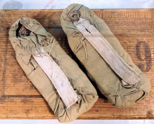 PRUSSIA - SHOULDER BOARDS - MAJOR'S - FOUL WEATHER/CAMOUFLAGED RESERVE INFANTERIE REGIMENT NR 2 M-1888. - Imperial German Military Antiques Sale