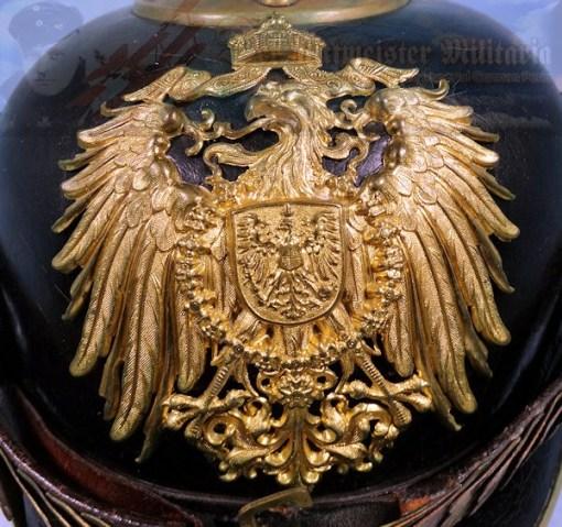 GERMAN REICH - PICKELHAUBE - NCO - BEAMTE - ELAß LOTHRINGEN (ALSACE LORAINE) - Imperial German Military Antiques Sale
