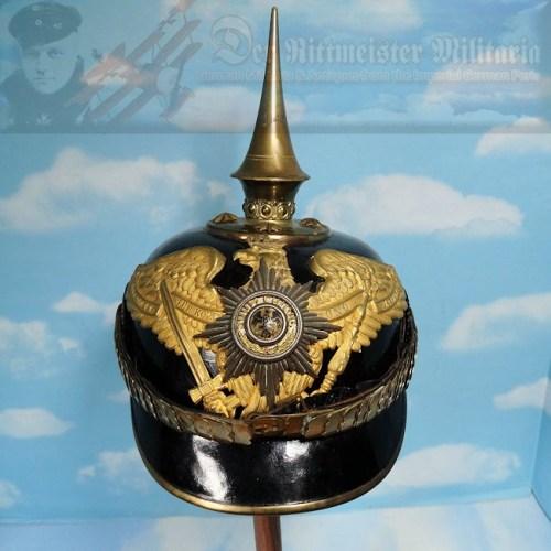 PRUSSIA - PICKELHAUBE - OFFICER - GARDE-GRENADIER/GARDE-REGIMENT ZU FUß/ REGIMENT/GARDE-TRAIN ABTEILUNG - Imperial German Military Antiques Sale