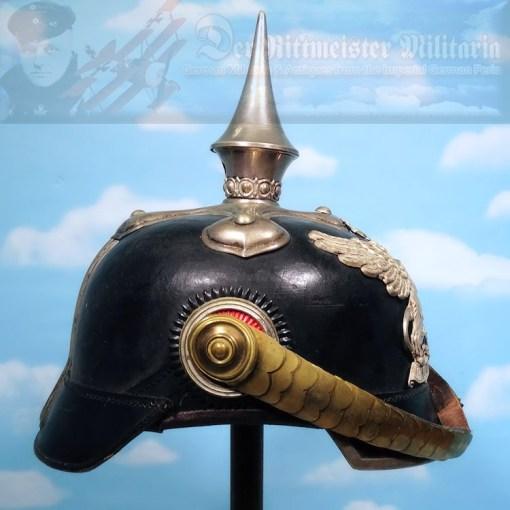 BADEN - PICKELHAUBE - FÄHNRICH'S  - DRAGONER-REGIMENT - Imperial German Military Antiques Sale