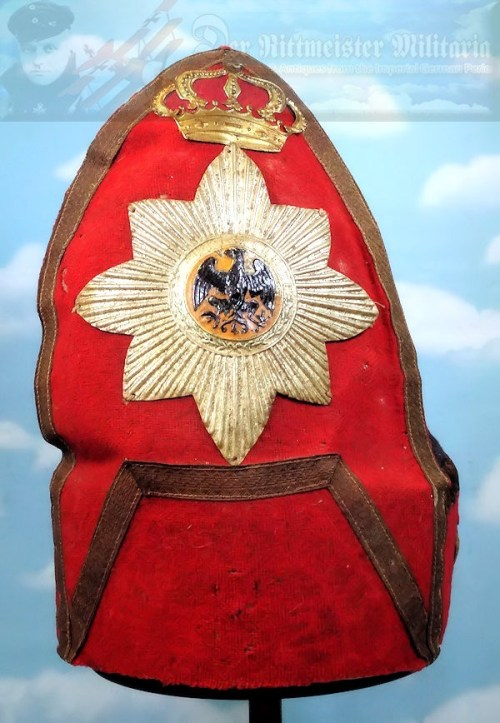 MITRE - 1900 CENTENNIAL FUND-RAISING EARLY 1700'S - Imperial German Military Antiques Sale