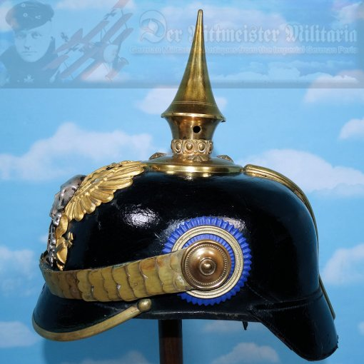BRAUNSCHWEIG - PICKELHAUBE - RESERVE OFFICER - INFANTERIE-REGIMENT NR 92 - Imperial German Military Antiques Sale