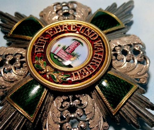BADEN - ZÄHRINGER LION BREAST STAR ORDER - Imperial German Military Antiques Sale