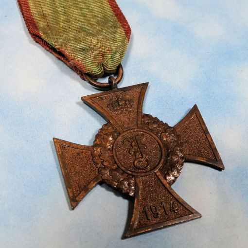 ANHALT - FRIEDRICH COMBATABT'S CROSS - 2nd CLASS - Imperial German Military Antiques Sale